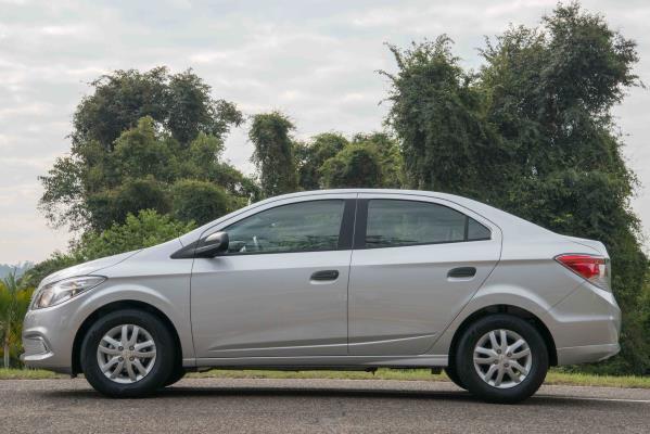 Prisma Joy estreia como o modelo mais econômico da  Chevrolet no mercado brasileiro