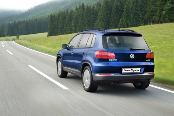 Volkswagen Tiguan passa a contar com motor 1.4 TSI de 150 cv, oferecendo baixo consumo de combustível