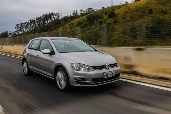 Motor TSI Total Flex de 125 cv que equipa o Golf Comfortline tem o maior torque entre seus concorrentes: 200 Nm (20,4 kgfm)