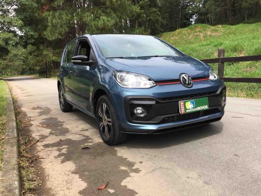 'Volkswagen novo up! chega para surpreender em tecnologia, conectividade e desempenho.