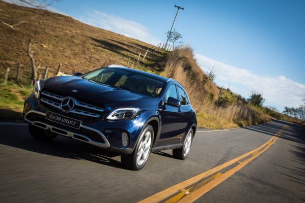 Novo Mercedes-Benz GLA chega com visual atualizado e mais SUV