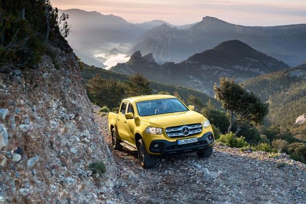 Mercedes-Benz mostra sua primeira Picape