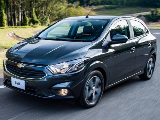 Onix é o carro zero mais financiado no país neste terceiro trimestre