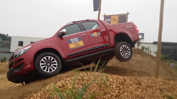 Test-drive da Nova S10 chega à Minas Gerais com pista off-road