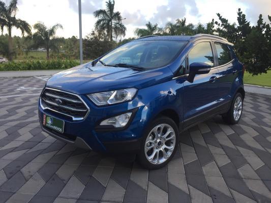 Ford Ecosport ganha nova opção de motor e câmbio e mais conteúdo de série