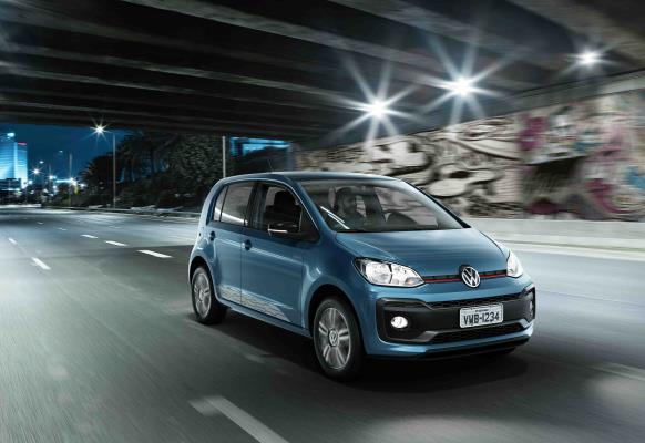 Volkswagen novo up! chega com mais conectividade e desempenho