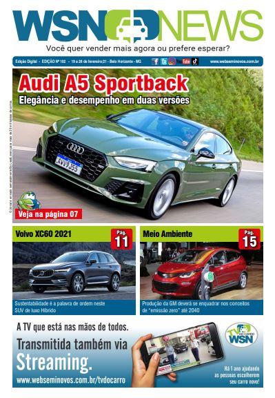 Capa do Jornal - Edição 102