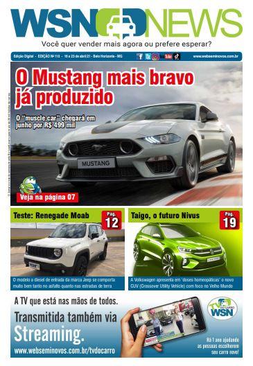 Capa do Jornal - Edição 110