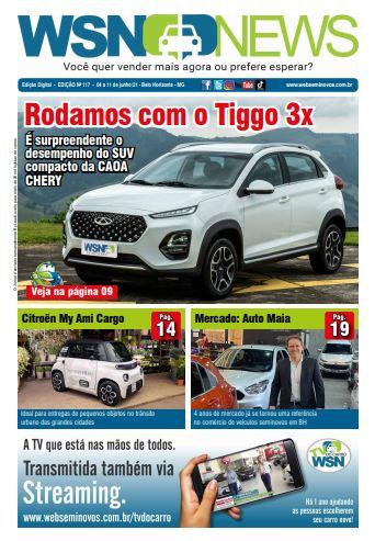 Capa do Jornal - Edição 117