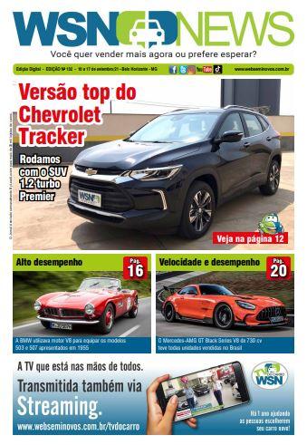 Capa do Jornal - Edição 132