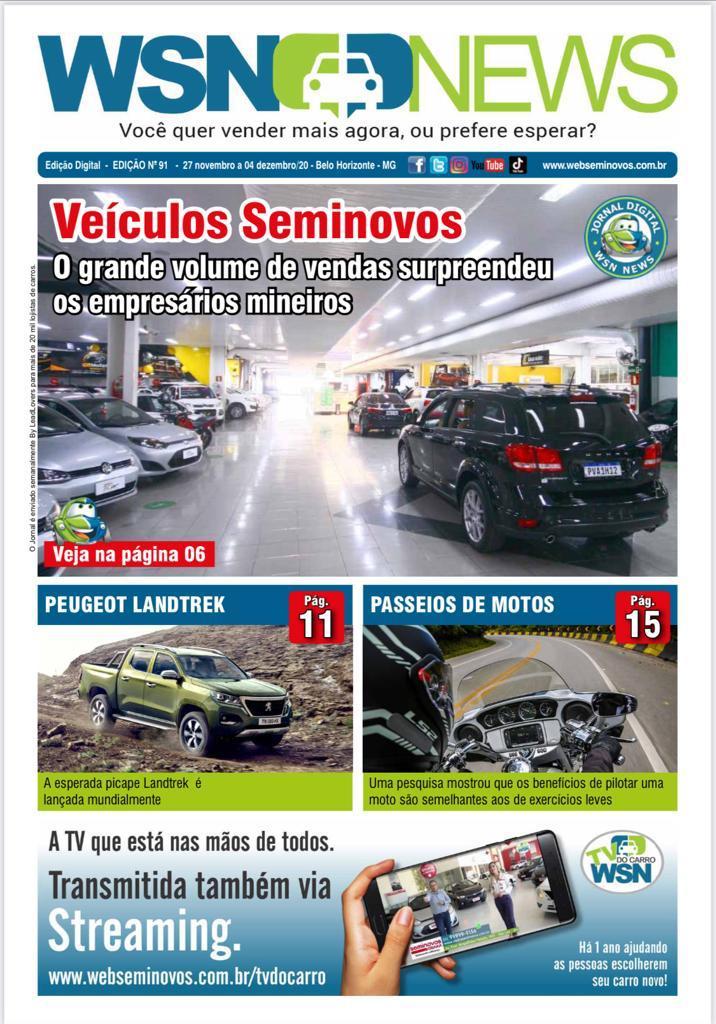 Capa do Jornal - Edição 91