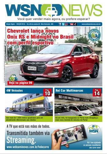 Capa do Jornal - Edição 83