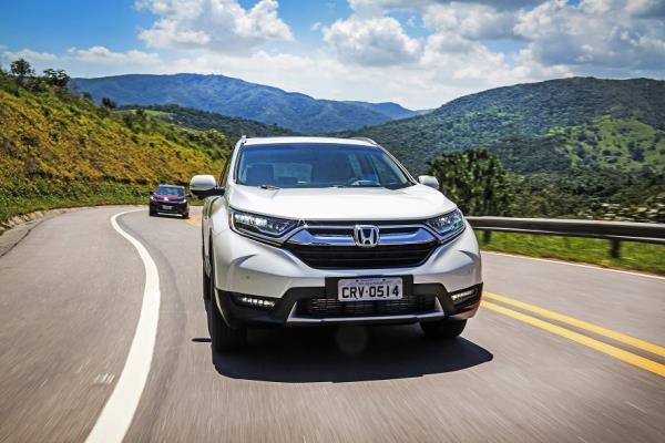 Novo Honda CR-V estreia no Brasil completamente renovado