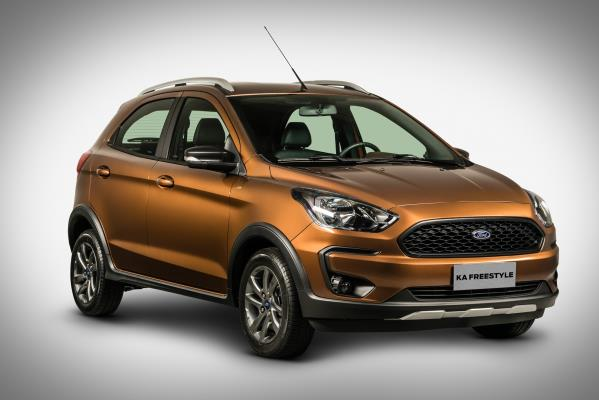 FORD KA FREESTYLE O NOVO  UTILITÁRIO COMPACTO GLOBAL DA MARCA