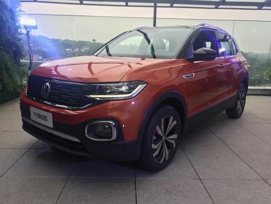 Volkswagen apresenta o T-Cross para o mundo