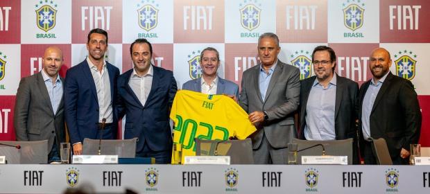 FIAT É A NOVA PATROCINADORA OFICIAL DA CBF CONFEDERAÇÃO BRASILEIRA DE FUTEBOL