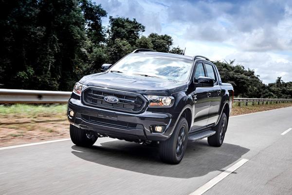 Ford Ranger Black foge da lama e da poeira