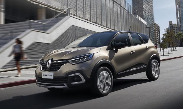Renault Captur ganha motor 1.3L turbo e novo câmbio CVT