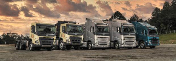 Caminhões Volvo mais tecnológicos