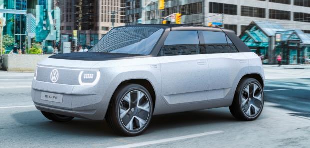 Elétricos VW têm designs diferenciados