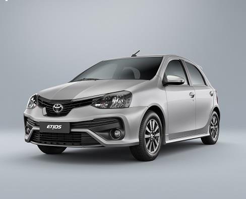 Toyota Etios 2019 traz nova versão, modificações  em design e mais itens de segurança
