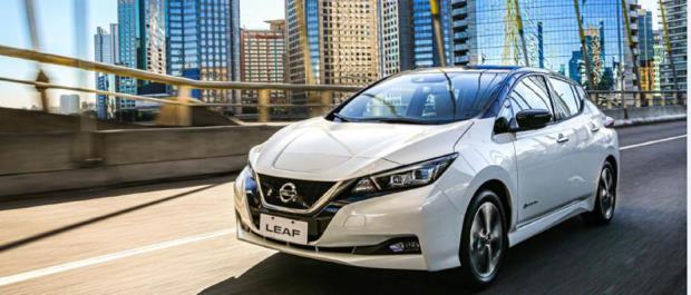 Nissan LEAF é premiado nos EUA