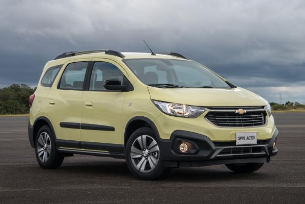 Novo Chevrolet Spin além do novo visual, chega com sete lugares