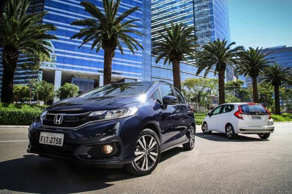 Honda lança Fit 2018  mais seguro, completo e tecnológico