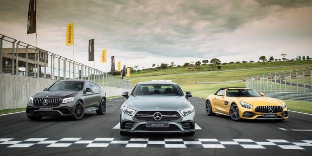Mercedes Benz realiza evento AMG Performance Tour