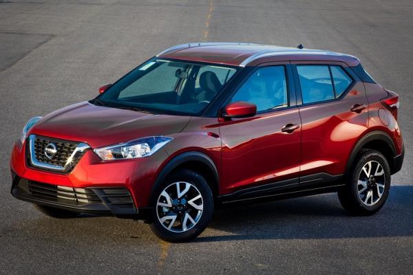 Novidades em todas as versões da linha Nissan Kicks